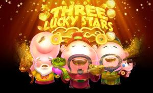 เกมออนไลน์สล็อต Three Lucky Stars คําอธิบายลึกสําหรับ