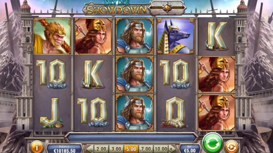 วิธีเล่นสล็อต Divine Showdown บน ios