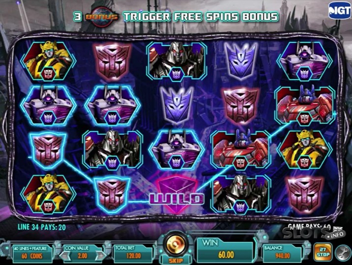You are currently viewing สมัครเล่นสล็อต Transformers: Battle for Cybertron หนังดัง