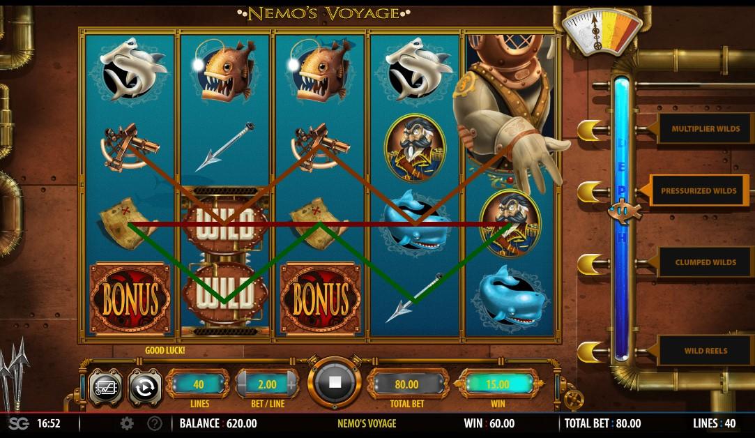 You are currently viewing เล่นสล็อตออนไลน์  Nemo's Voyage WILD 4แบบ คุ้มค่า