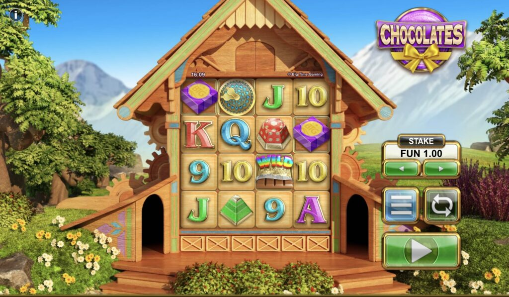 You are currently viewing สล็อตเว็บตรง njoy1688 รีวิวเกมส์ Chocolates บ้านไม้