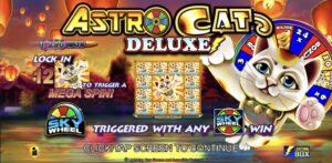 Read more about the article สล็อตเอ็กโอ Astro Cat Deluxe แจ็คพอตบนวงล้อจำนวนมาก